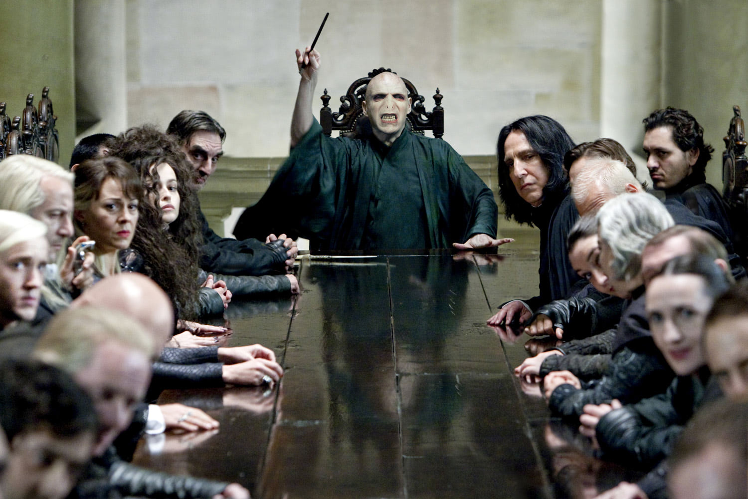 Voldemort in Malfoy Manor