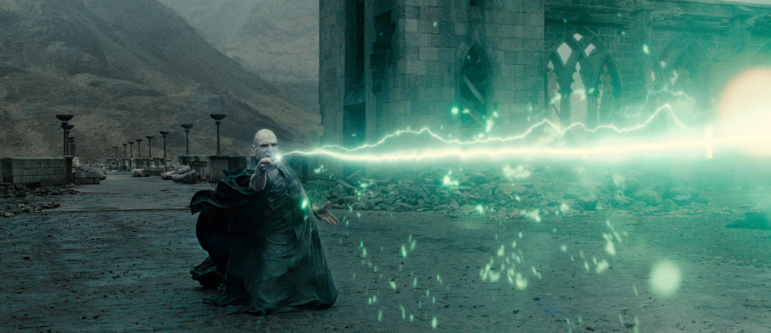 Voldemort in the final battle