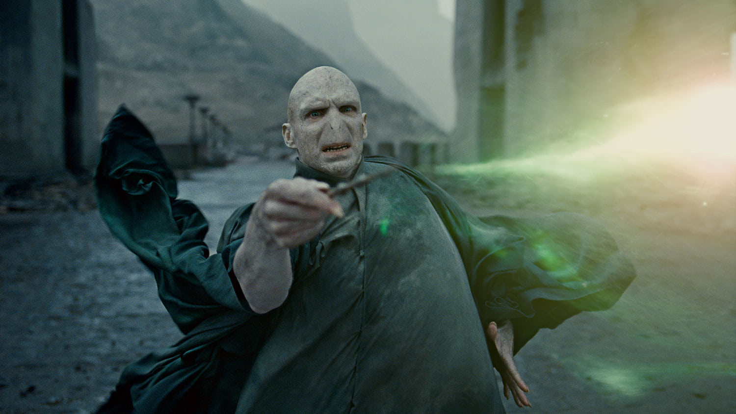 Voldemort loses the battle
