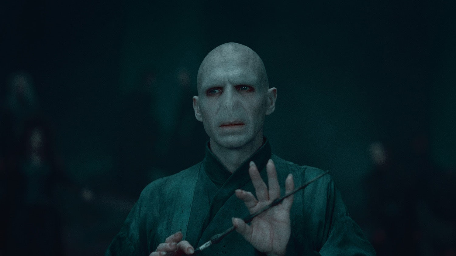Voldemort with the Elder Wand
