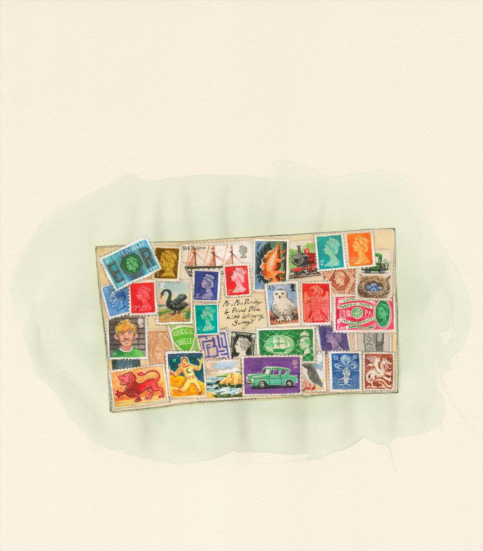 Weasley envelope
