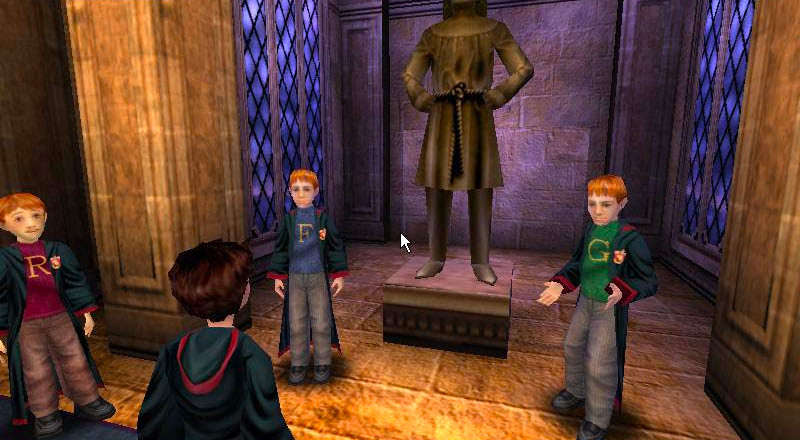 Weasley twins (Sorcerer's Stone video game)
