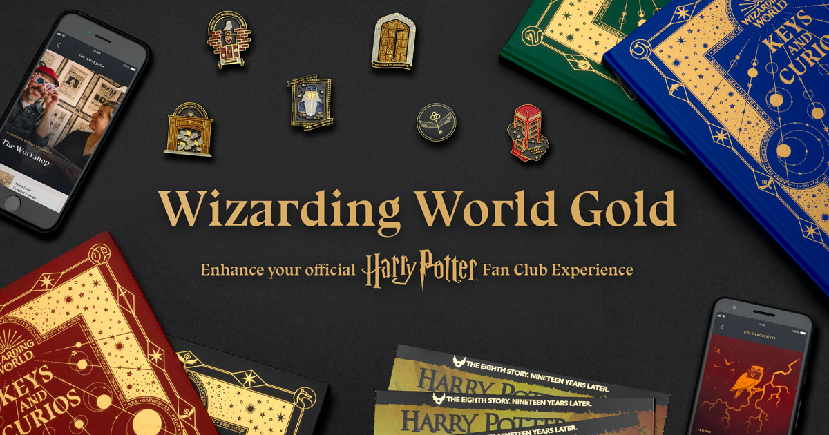 Wizarding World Gold premium service available for pre-order