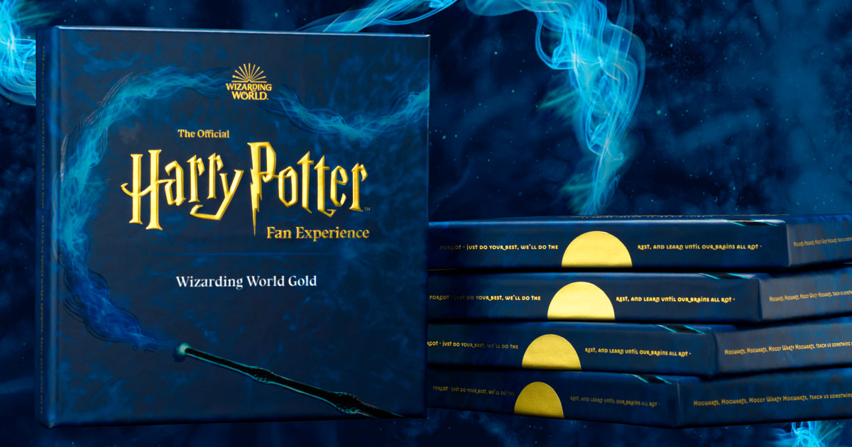 Wizarding World Gold now available as gift box subscription