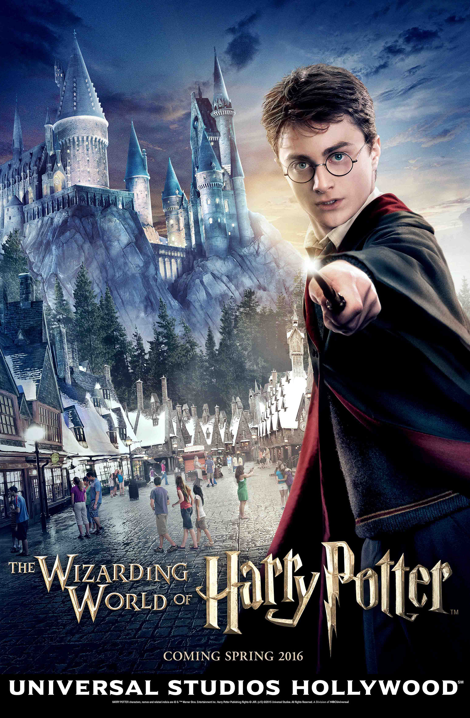 'Wizarding World of Harry Potter' Hollywood poster