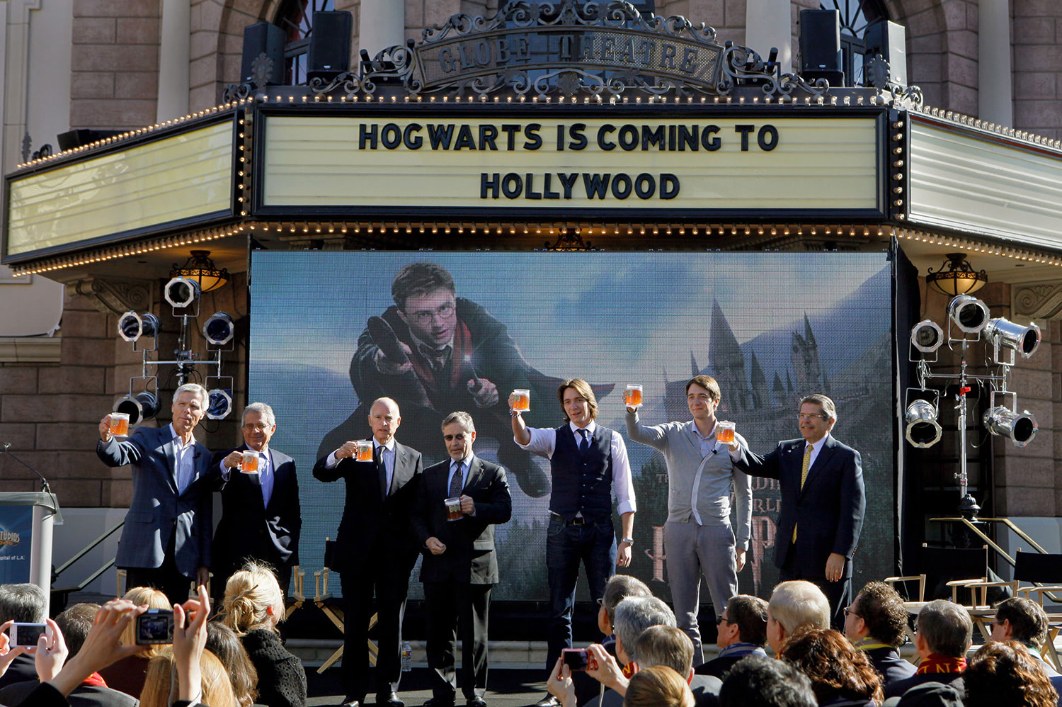 'Wizarding World of Harry Potter' Hollywood announcement