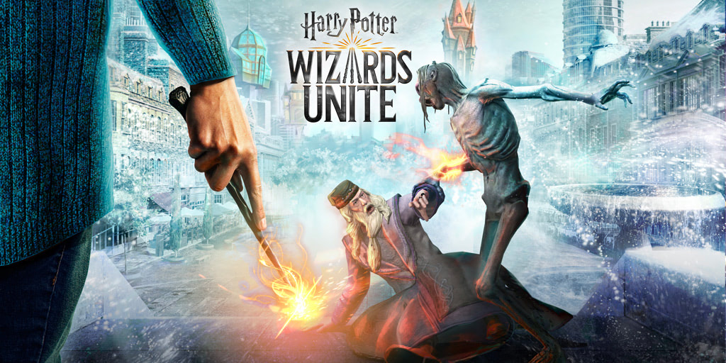 Dumbledore and the Inferi ('Harry Potter: Wizards Unite')