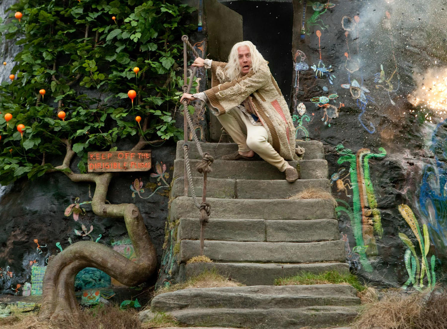 Xenophilius Lovegood's house is attacked