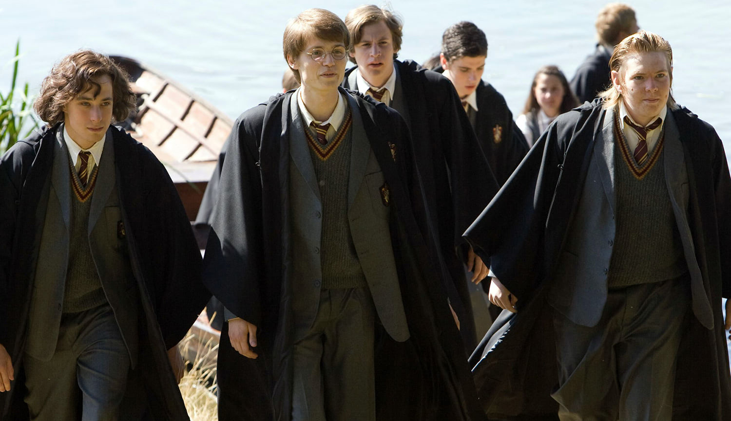 The young Marauders in 'Order of the Phoenix'