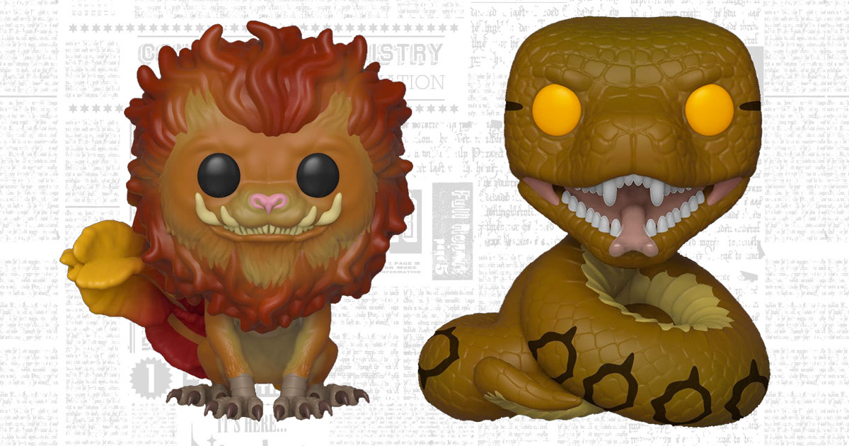 Funko to release new 'Crimes of Grindelwald' Zouwu, Nagini Pop! Vinyl figures in December